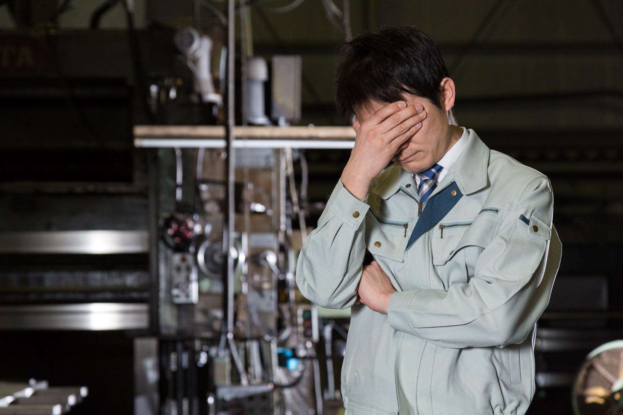 緊急事態宣言で工場はどうなる?仕事はできる?工場休止ってある?