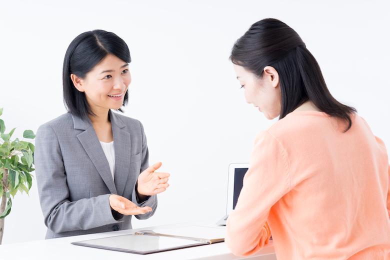 女性コンサルタントによるカウンセリング