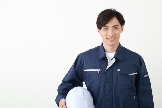 工場の男性